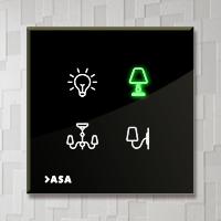 کلید هوشمند کنترل روشنایی